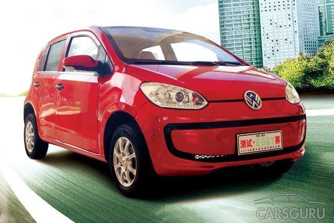 В Китае появилась копия Volkswagen up!