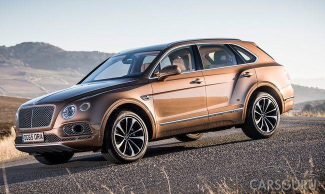 Вскоре состоится презентация новой модели Bentley на рынке России
