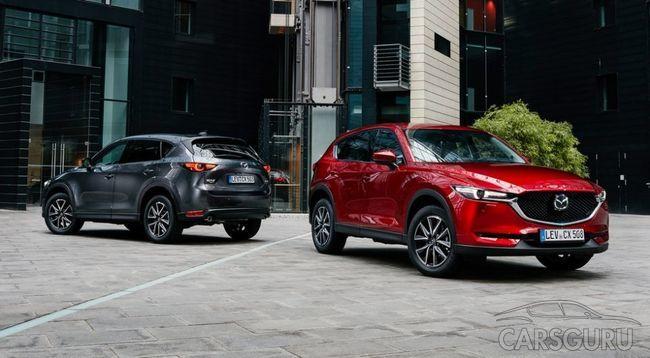 Состоялась презентация новой Mazda CX-5