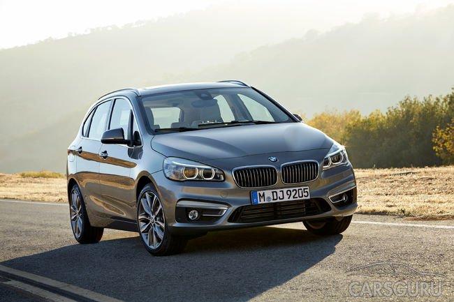 Стала известна стоимость BMW 2 Active Tourer
