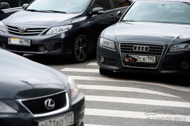 Закрывающим номера автовладельцам придется платить новый штраф