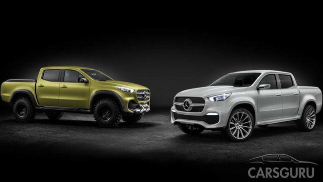 Mercedes-Benz готовит к выпуску первый пикап
