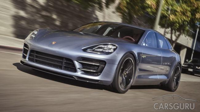 Porsche Panamera Sport Turismo дебютирует в Женеве