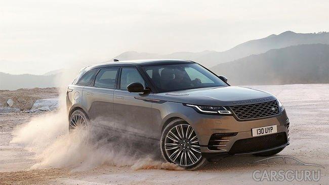 Премьера! Революционный Range Rover Velar в РОЛЬФ JLR