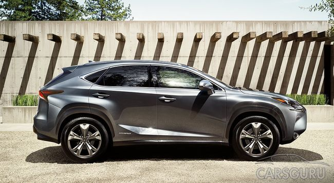 В Китае состоится презентация обновленного Lexus NX