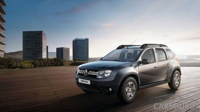 Renault Duster будет выпускаться с вариатором