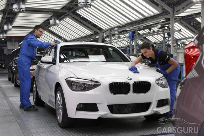 BMW повышает стоимость на свою продукцию