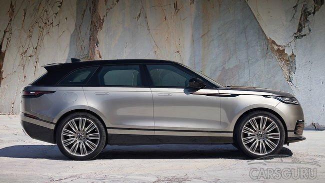 Стали известны подробности о Range Rover Velar