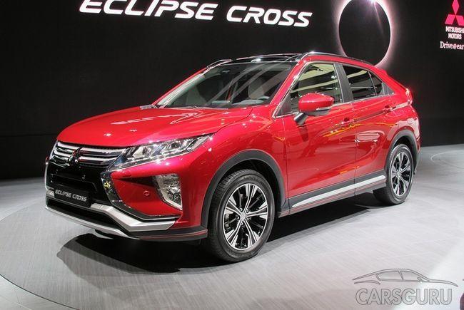 Новый Mitsubishi Eclipse Cross в следующем году появиться на рынке России