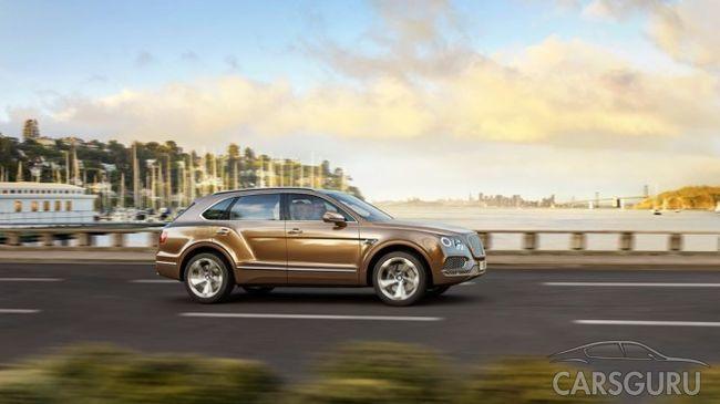 Bentley Bentayga с дизельным мотором появится в России