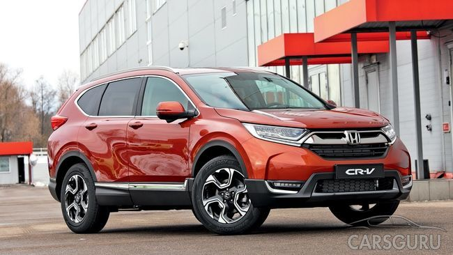 Honda представила семиместную вариацию CR-V