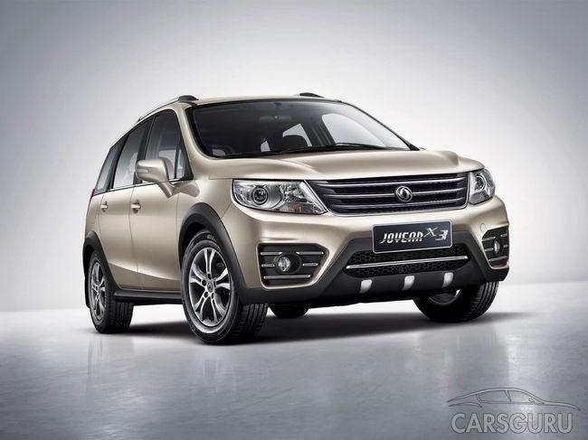Начались продажи обновленного Dongfeng Joyear X3