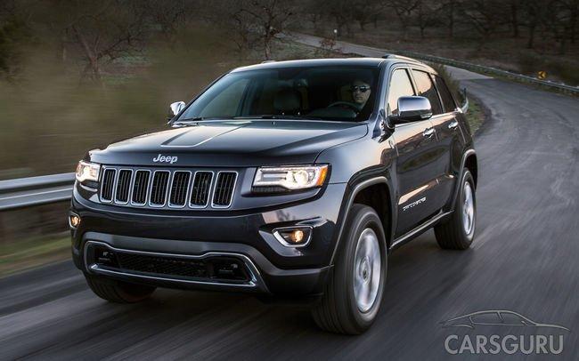 В России начался отзыв 6,5 тысячи внедорожников Jeep Grand Cherokee