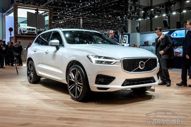 Volvo XC60 был представлен в новом оформлении