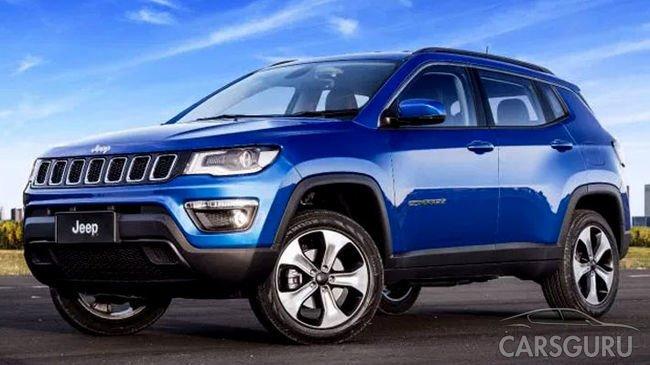 Jeep Compass появится в России уже в этом году