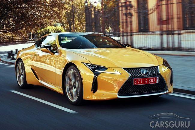 Стала известна стоимость Lexus LC 500