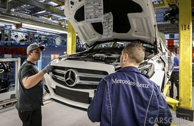 Копания Mercedes-Benz планирует начать полный производственный цикл производства авто в России