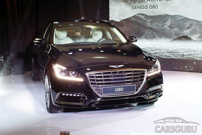 Стала известна стоимость Genesis G80