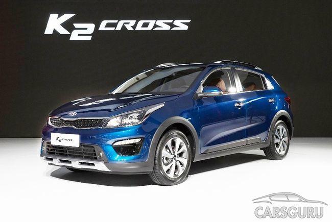 Кроссовер Kia K2 Cross поступит в продажу в конце этой весны