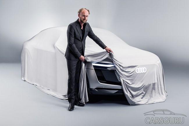 Audi рассекретили внешность e-tron Sportback