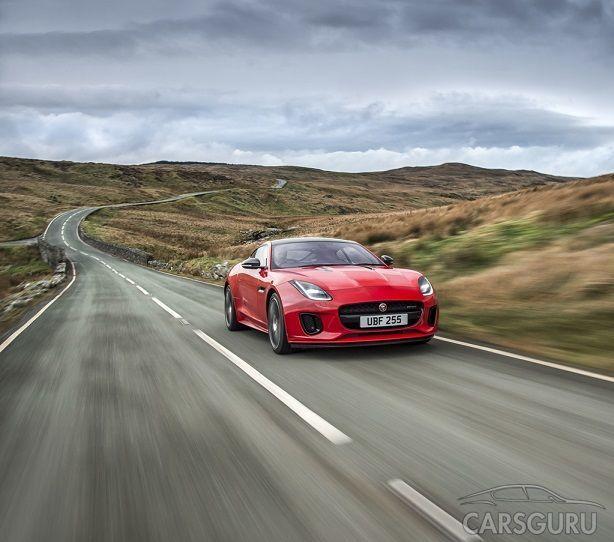 Новая модификация Jaguar F-TYPE с четырехцилиндровым двигателем: динамика истинного спорткара и выдающаяся экономичность