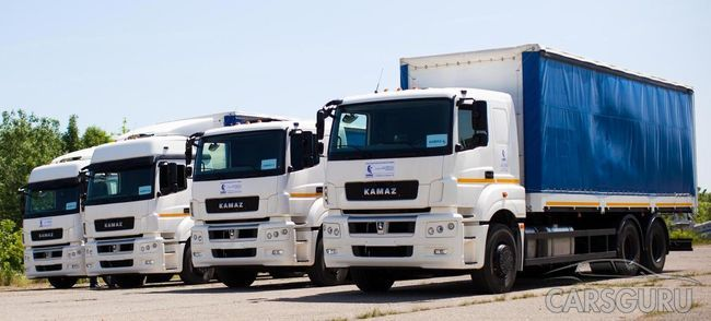Российский рынок грузовиков вырос за март текущего года