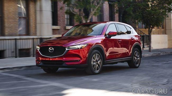 Стала известна стоимость обновленной Mazda CX-5