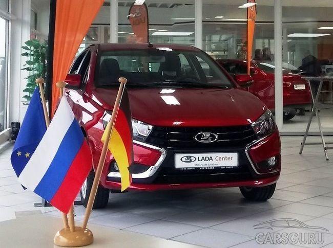 «АвтоВАЗ» увеличивает объем продаж в ЕС