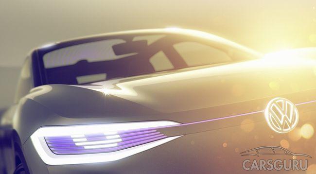 Новый электрический кроссовер Volkswagen I.D.
