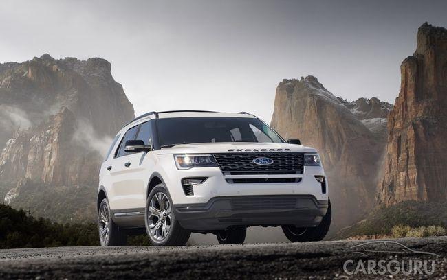 Ford рассказал об изменениях Explorer 2018 перед презентацией