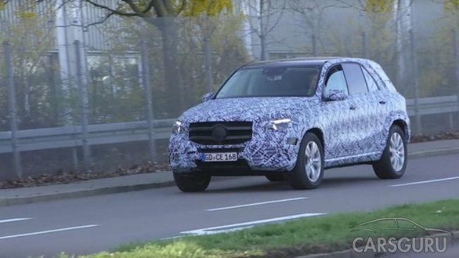 Mercedes-Benz готовит к выходу новый автомобиль