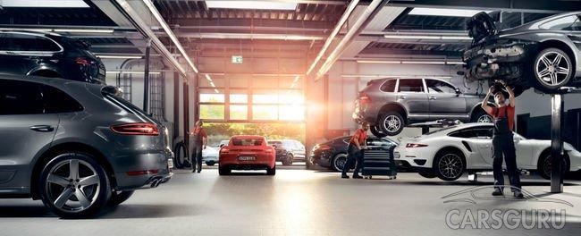 Проверка Porsche по 111 пунктам и эндоскопирование
