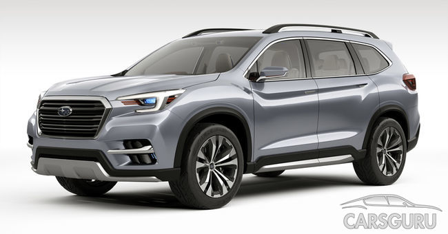 Концепт Subaru Ascent представлен в США