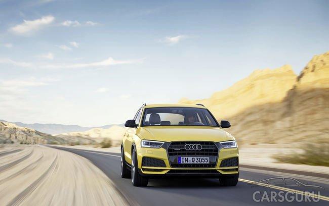 На рынке России впервые представили спортверсию Audi Q3
