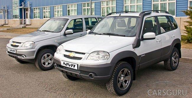 Скидки на Chevrolet Niva от производителя до конца апреля