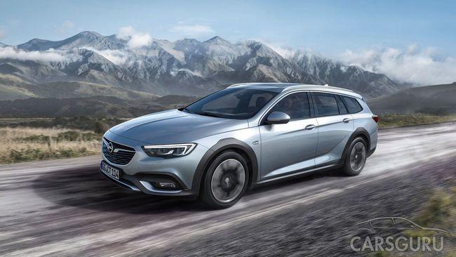 Opel рассказал о вседорожной версии Insignia