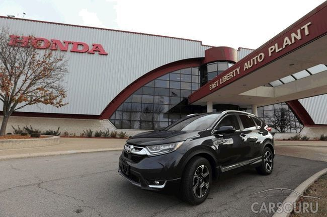 На заводе Honda налажен выпуск нового CR-V для России