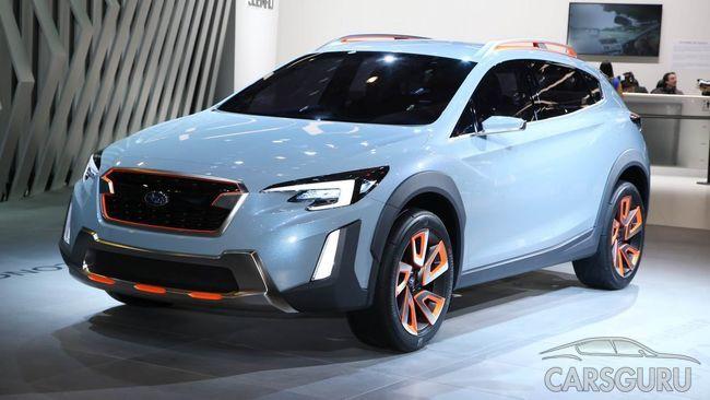 Subaru XV поступит в продажу уже в этом году