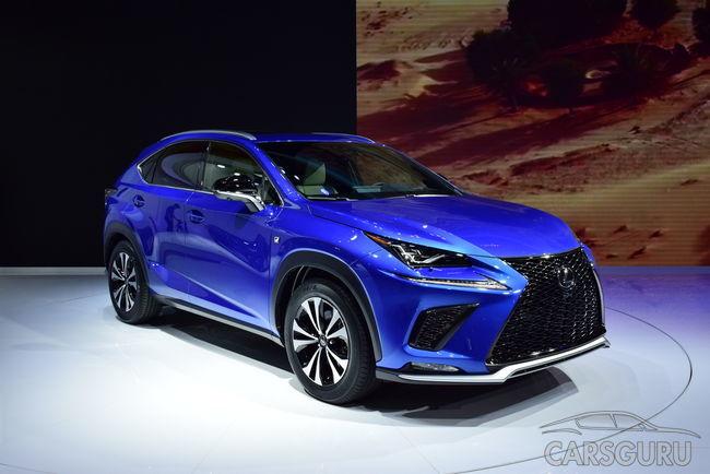 В Шанхае прошла презентация нового Lexus