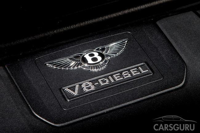 Первый дизельный автомобиль Bentley доступен для предзаказа в России