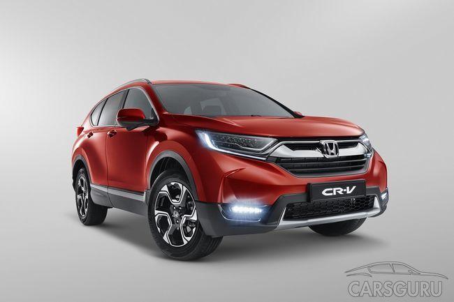 Honda представляет пятое поколение CR-V для российского рынка