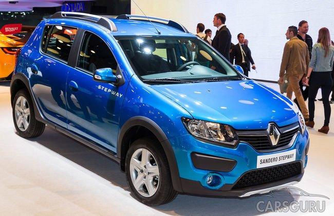 Renault Sandero и Renault Duster выпустят в лимитированных версиях