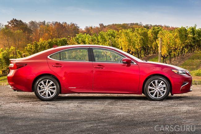 Две модели ES и GS от Lexus заменять одной новой