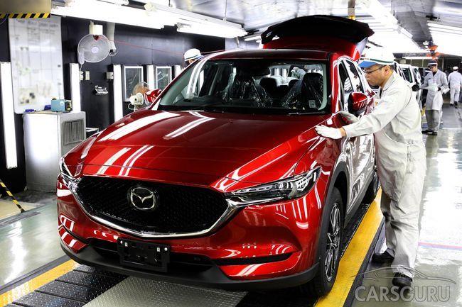 Стали известны подробности об обновленной модели Mazda CX-5