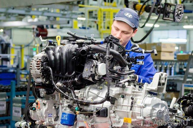 Hyundai планирует наладить производство двигателей в России