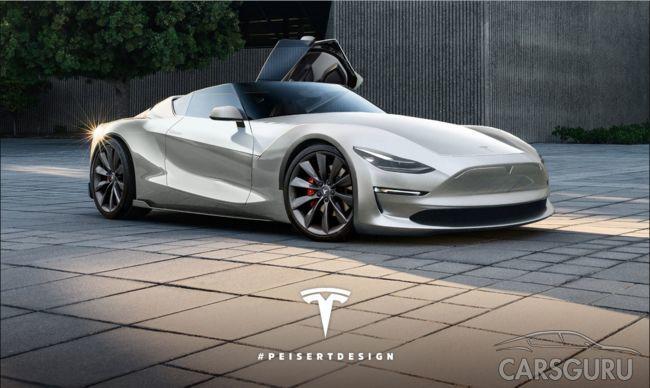 Tesla планирует выпустить самый быстрый роадстер