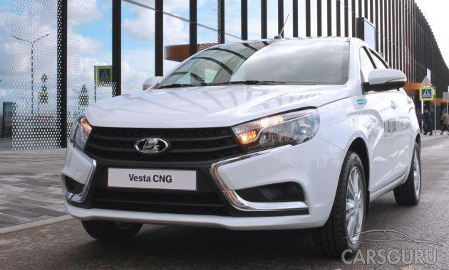 Известны первые данные о технической части Lada Vesta CNG