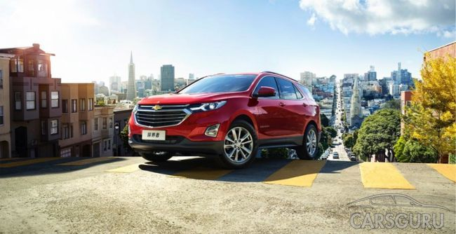 На китайском рынке стартовала реализация нового кроссовера Equinox от Chevrolet