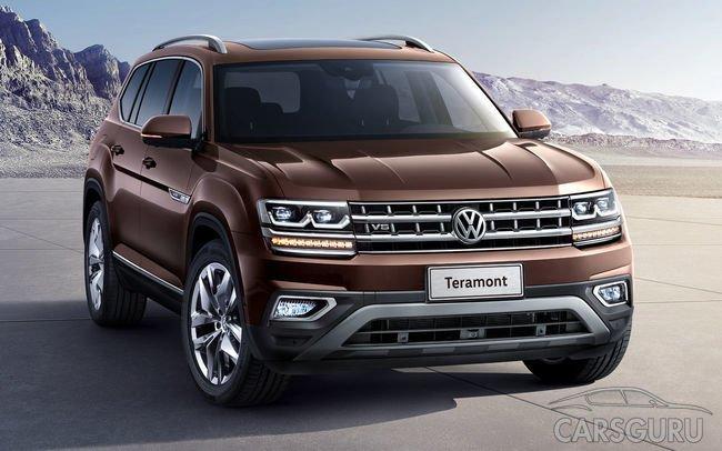 Volkswagen Atlas может появиться в России только в следующем году