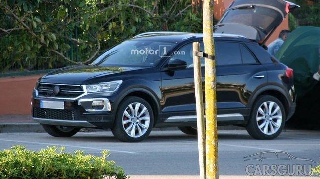 Шпионские фотографии Volkswagen T-Roc попали в Сеть